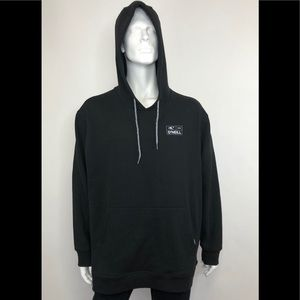 O'Neil Creation Black Dusted Pullover Hoodie XXL